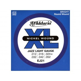 D'addario Jazz Light 12-52