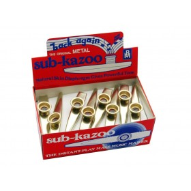 Barnes & Mullins Kazoo metaal 24/pk