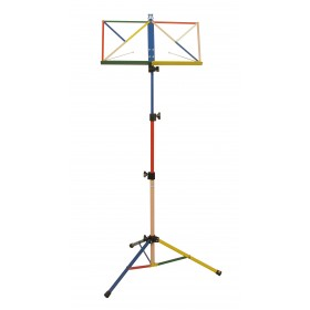 Hamilton Music Stand Rainbow with bag KB380F-RB