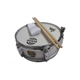 "Dixon Junior Snare 4"" x 10"" White"