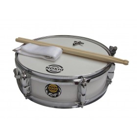 "Dixon Junior Snare 4"" x 12"" White"