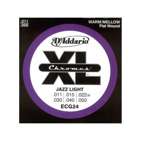 D'addario Chromes Flat/Extra Light 011/050
