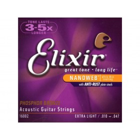 Elixir Acoustic PB Extra Light 010-047