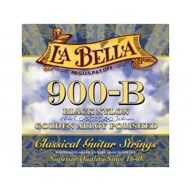 La Bella Classic Guitar Black Nylon