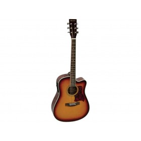 Phoenix Western Guitar Tobacco Sunburst