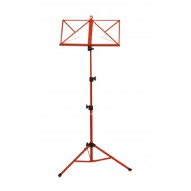 Hamilton Music Stand Red with bag KB380F-RD