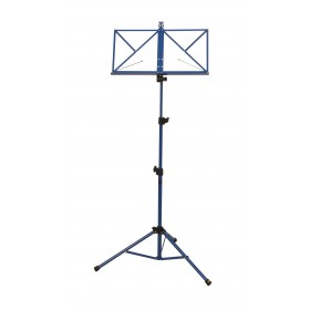 Hamilton Music Stand Blue with bag KB380F-BL