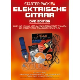 Starter Pack Electric Guitar + DVD-UK Slim