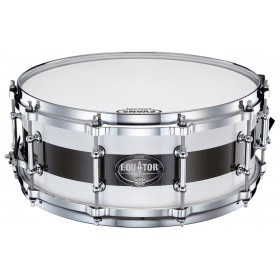 "Dixon Snare 5.5"" x 14"" Equator Maple + Carbon PDSEQU554-2"
