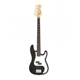 Aria Electric Bass Guitar Black STB-PB BK