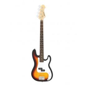 Aria Electric Bass Guitar 3-Tone Sunburst STB-PB 3TS