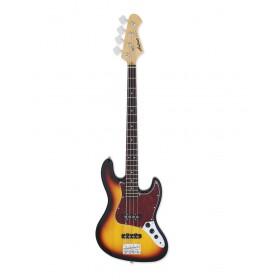 Aria Electric Bass Guitar 3-Tone Sunburst STB-JB/TT 3TS