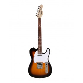 Aria Electric Guitar 3-Tone Sunburst 615-FRONTI 3TS