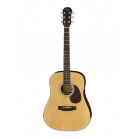 Aria Acoustic Guitar Naturel ADW-01 N