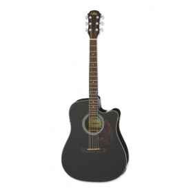 Aria Acoustic Guitar CE Black ADW-01CE BK