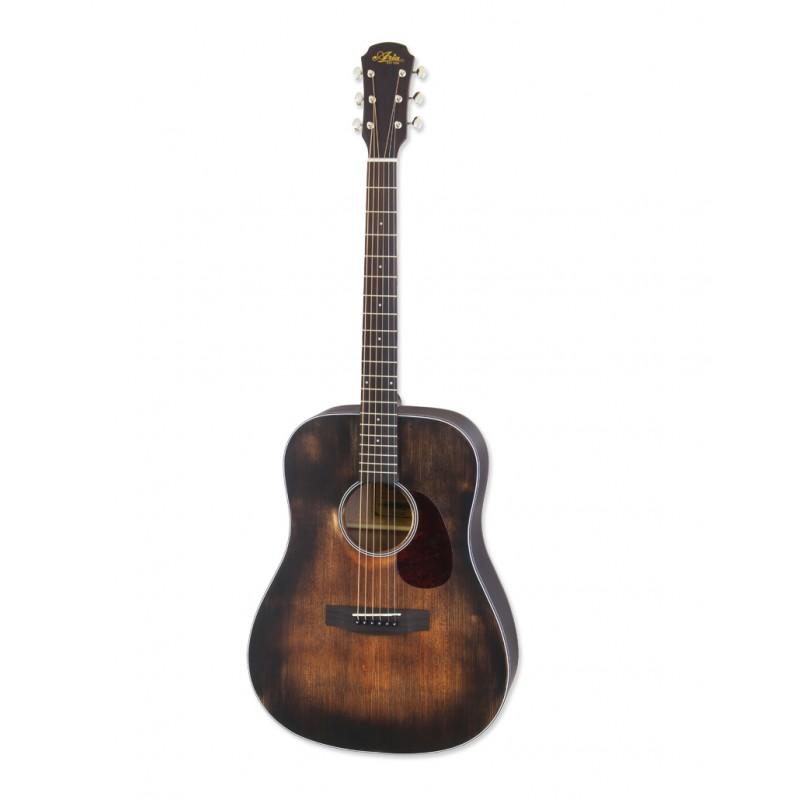 Aria Acoustic Guitar Muddy Brown ARIA-111DP MUBR