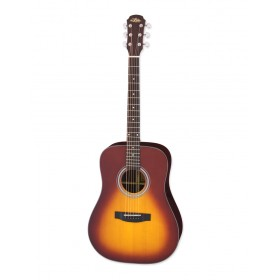 Aria Acoustic Guitar Tobacco Sunburst ARIA-215 TS