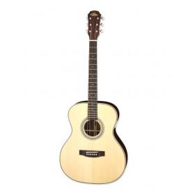 Aria Acoustic Guitar Naturel + bag ARIA-505 N