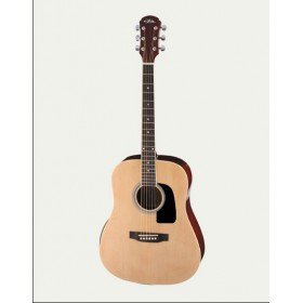 Aria Acoustic Guitar Naturel AWN-15 N