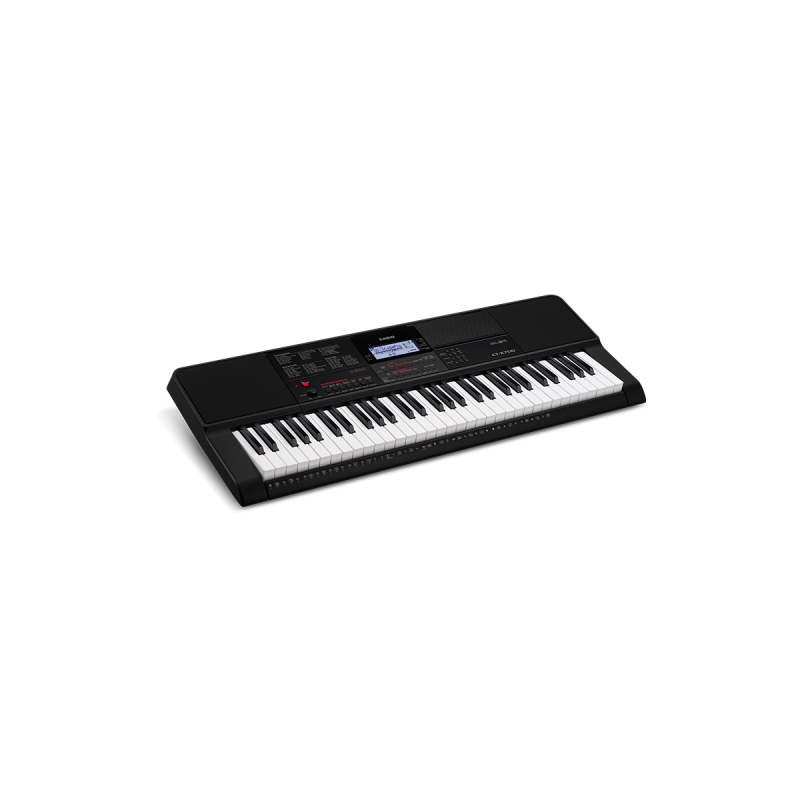 Casio Keyboard 5 oct. Full Size incl. adapter CTX-700