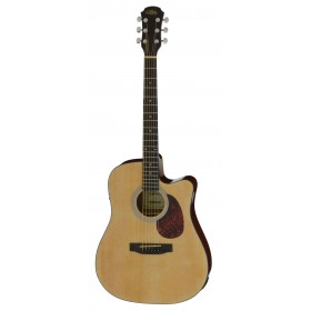 Aria Acoustic Guitar CE Naturel ADW-01CE N