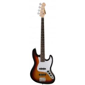 Aria Electric Bass Guitar Sunburst STB-JB SB
