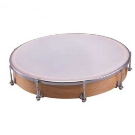"""Dixon 12"""" Tunable Maple Hand Drum with Mallet"""