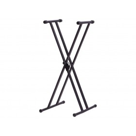 Dixon Keyboard Stand Double X Style Black