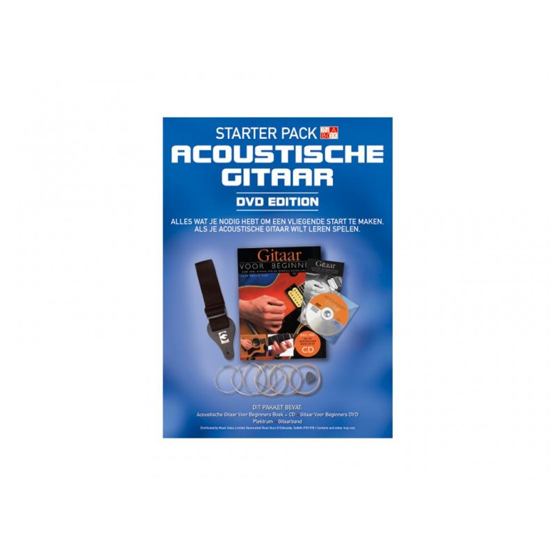 Starter Pack Acoustic Guitar + DVD-NL