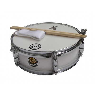 "Dixon Junior Snare 4"" x 13"" White"