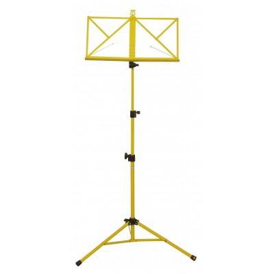 Hamilton Music Stand Yellow with bag KB380F-YL