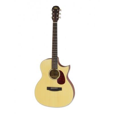 Aria Acoustic Guitar CE Matte Naturel Aria-101CE MTN