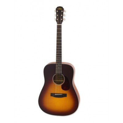 Aria Acoustic Guitar Matte Tobacco Sunburst ARIA-111 MTTS