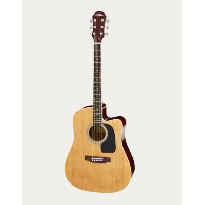 Aria Acoustic Guitar CE Naturel AWN-15CE N