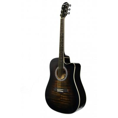 Phoenix Western Guitar Tiger Sunburst 002 CE TS