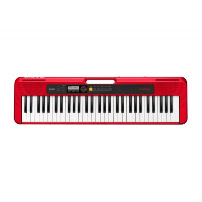 Casio Keyboard 5 oct. Full Size incl. adapter CT-S200 RD