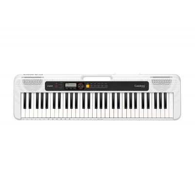 Casio Keyboard 5 oct. Full Size incl. adapter CT-S200 WE