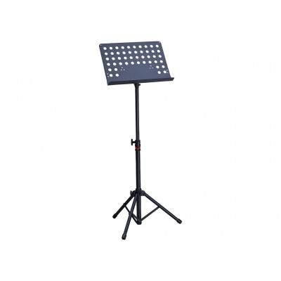 Dixon Concert Music Stand Black with Holes