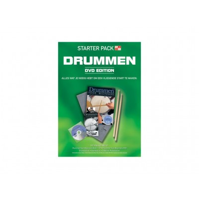 Starter Pack Drums + DVD-NL