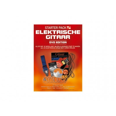 Starter Pack Electric Guitar + DVD-NL